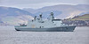 HDMS Absalon (L16) off Greenock - 28 March 2019