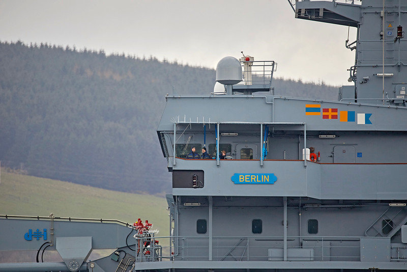 FGS Berlin (A1411) at Rhu - 29 March 2019