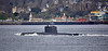'HNoMS Utsira' (S301) passing Gourock - 25 March 2019