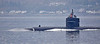 USS Olympia (SSN-717) off Cloch Point - 19 April 2019
