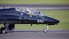 Royal Navy BAe Hawk T1 (XX239) at Prestwick Airport - 2 April 2019