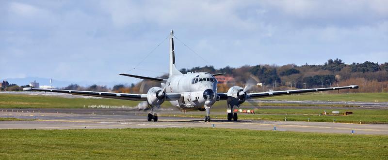 Atlantique ATL3 maritime patrol aircraft at Prestwick Airport - 2 April 2019