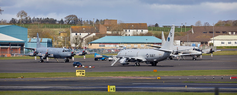 Joint Warrior Participants at Prestwick Airport - 2 April 2019