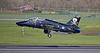 British Aerospace Hawk T.1A (XX285) at Prestwick Airport - 2 April 2019