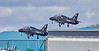 RAF Hawks Depart Prestwick Airport - 2 April 2019