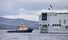 FS Tonnerre (L9014) off Greenock - 4 October 2019