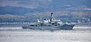 HMS Kent (F78) off Cloch Lighthouse - 15 May 2021