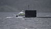 T Class Submarine on Exercise - Loch Long - 25 September 2011