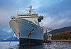 RFA 'Fort Victoria' at Loch Striven - 9 January 2014
