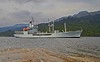 RFA Gold Rover approaching Glen Mallan - 20 May 2014