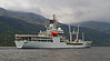 RFA Gold Rover berthing at Glen Mallan - 20 May 2014