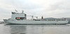 RFA Mounts Bay - Rhu Spit - 16 January 2012