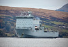RFA Lyme Bay (L3007) at Rhu Narrows - 31 October 2019