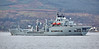 RFA Wave Ruler Off Cloch Point, Gourock - 28 December 2016