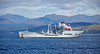 RFA Wave Ruler off Cloch Point, Gourock - 9 August 2017