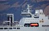 RFA Tidespring Off Cloch Point, Gourock - 30 April 2018