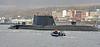 HMS Astute on first arrival to Faslane Naval Base - 20 November 2009