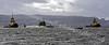 SD Impetus & Impulse Escort HMS Astute - River Clyde