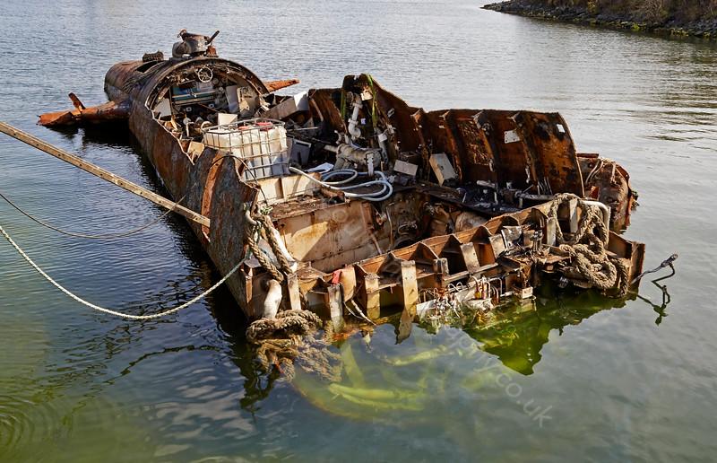 HMS Onyx at Roseneath - 19 April 2015