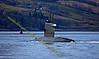 Dutch Submarine - Dolfijn (S808) - Heads up to Faslane