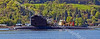 French Submarine - SNA Rubis Class - Leaving Faslane