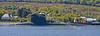 S602 Saphir - Leaving Faslane - SD Husky Escorting