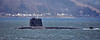 FNS Perle (S606) passing Cloch Lighthouse - 27 April 2016
