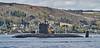HMS Turbulent - Off Rhu Spit - 16 April 2012