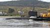 Trafalgar-Class Submarine - Off Rhu Spit - 16 April 2012