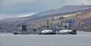 Vanguard Class Submarine Inbound for Faslane Naval Base - 26 February 2016