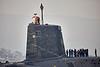 Vanguard Class Submarine 'Vigilant' off Rhu Spit - 10 April 2015