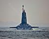 Vanguard Class Submarine off Rhu Spit - 10 April 2015
