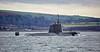 RN 'Astute' Class Submarine in the Gareloch - 2 February 2017