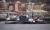 HMS Victorious arrives at Faslane Naval Base - 24 March 2016