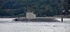 'HMS Artful' bound for Faslane Naval Base - 21 September 2015
