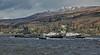 Vanguard Class Submarine at Faslane - 3 March 2020