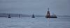 RN Submarine and entourage departing Faslane - 26 November 2015