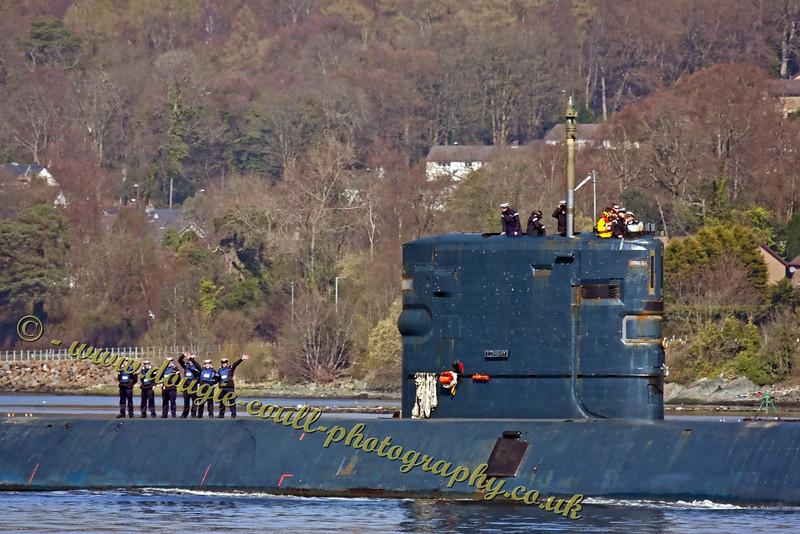 HMS Torbay - Friendly Crew