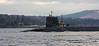 HMS Victorious - Faslane Bound - 30 January 2012