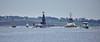 'HMS Vigilant' off Rhu Spit - 7 January 2016