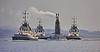 Vanguard Class Submarine near Faslane Naval Base - 25 February 2021