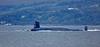 Vanguard Submarine off Cloch Lighthouse - 17 September 2015