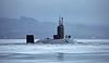 RN Submarine off Rhu - 26 November 2015