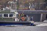 Royal Marine Launch 'Rona' off Rhu Spit - 26 February 2016