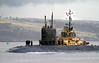 HMS Talent - Gareloch - 5 February 2012