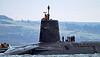 HMS Victorious - Garelochead - 30 January 2012