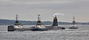 Vanguard Class Submarine departing Faslane with Tugs Assisting - 13 May 2016
