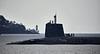 Vanguard Class Submarine off Cove - 3 March 2020