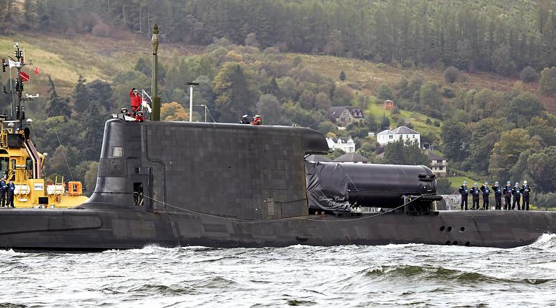 HMS Astute - 29 September 2012