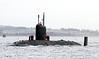 HMS Trenchant - Approaching Rhu Spit - 13 February 2012